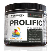 PEScience Prolific Pre Workout Mango Splash