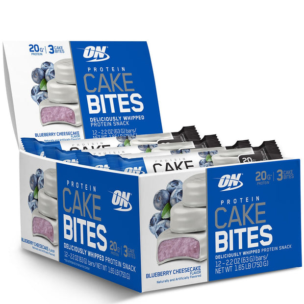 Optimum Nutrition Cake Bites Blueberry Cheesecake