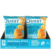 Quest Tortilla Protein Chips Cheddar and Sour Cream