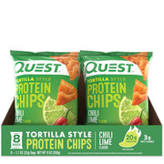 Quest Tortilla Protein Chips Chilli Lime