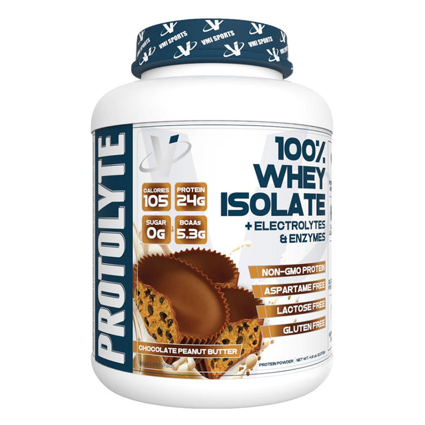 Vmi Sport Protolyte 100% Whey Isolate Protein Chocolate Peanut Butter
