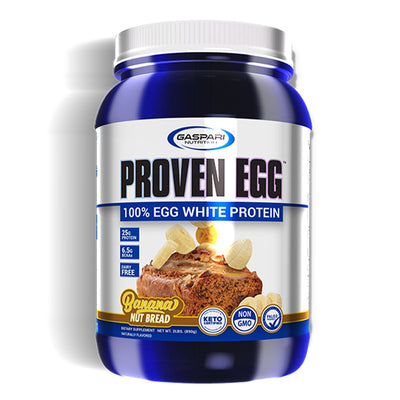 Gaspari Nutrition Proven Egg White Protein Banana Nut Bread