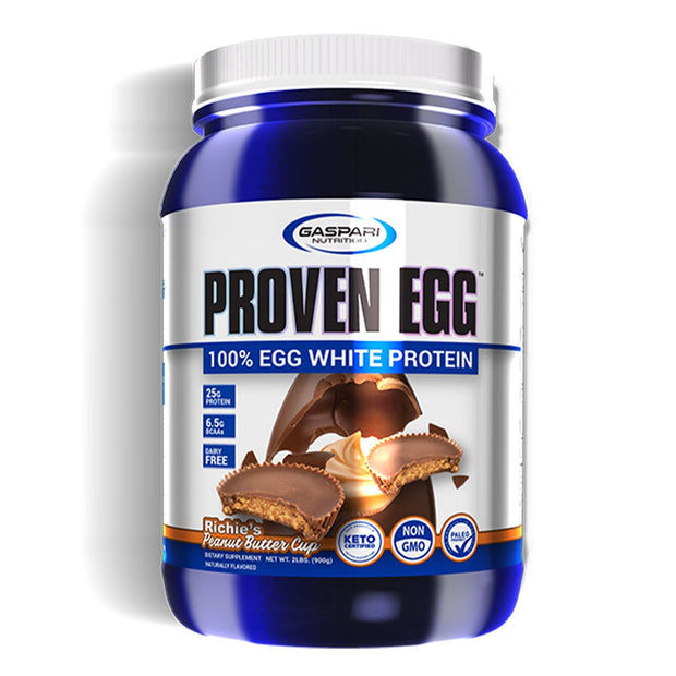 Gaspari Nutrition Proven Egg White Protein Richies Peanut Butter Cup