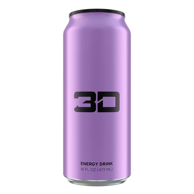 3D Energy Drink Purple Grape Christian Guzman