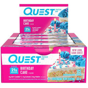 Quest Bars Birthday Cake