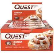 Quest Bars Cinnamon Roll