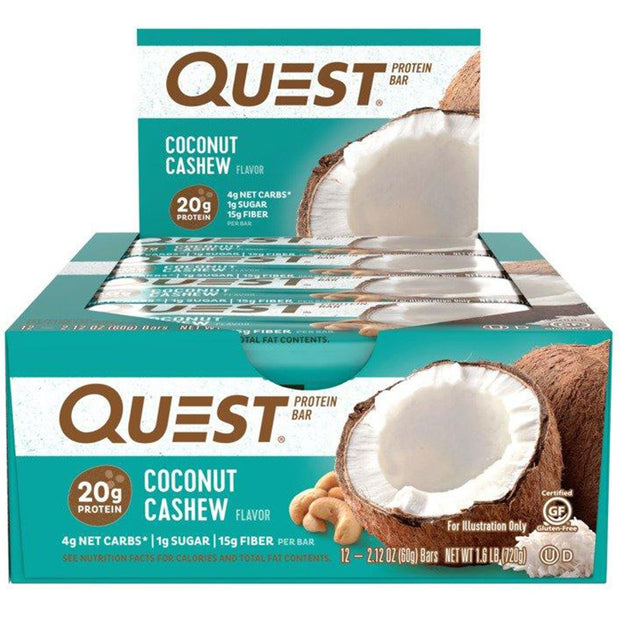 Quest Bars Coconut Cashew