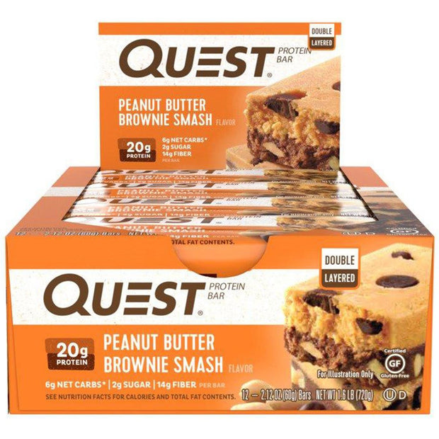 Quest Bars Peanut Butter Smash PB Smash