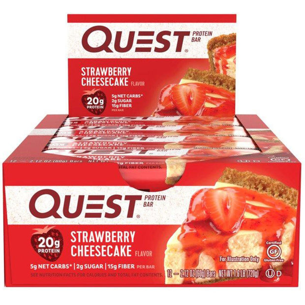 Quest Bars Strawberry Cheesecake