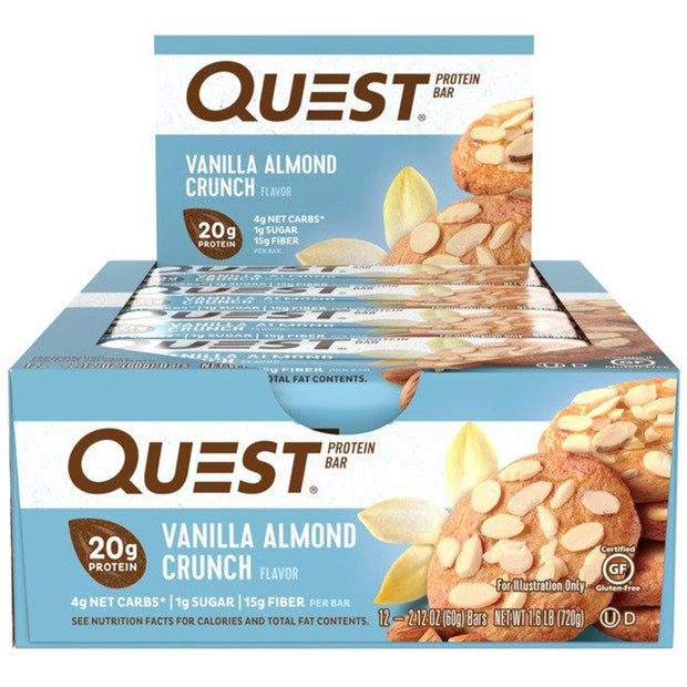 Quest Bars Vanilla Almond Crunch