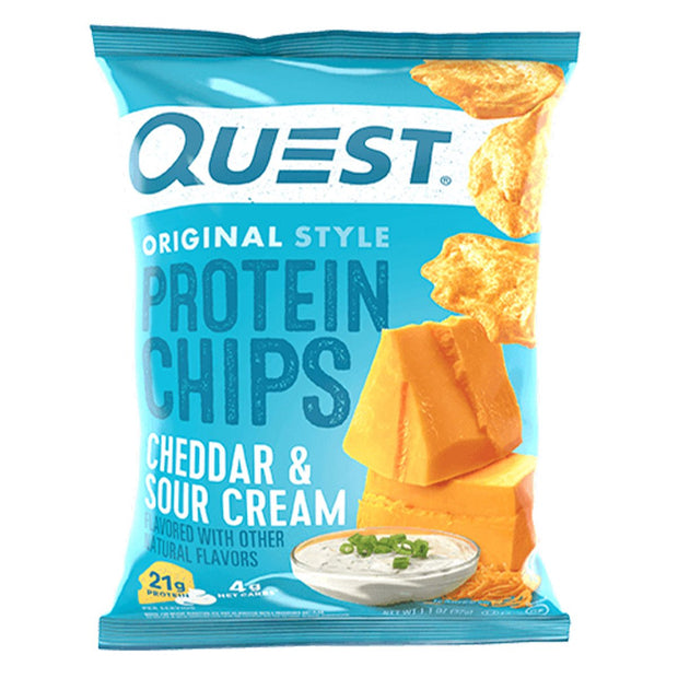 Quest Nutrition Protein Chips Cheddar and Sour Cream