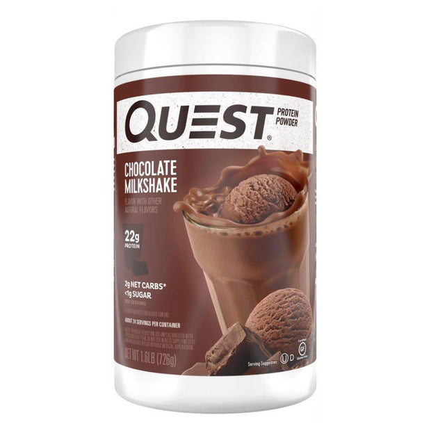 Quest Protein Powder Chocolate Milkshake