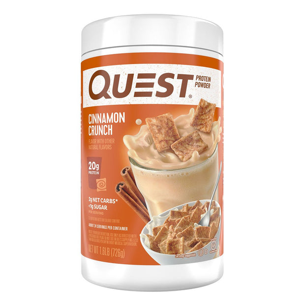 Quest Protein Powder Cinnamon Crunch