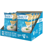 Quest Tortilla Style Protein Chips Ranch Flavor