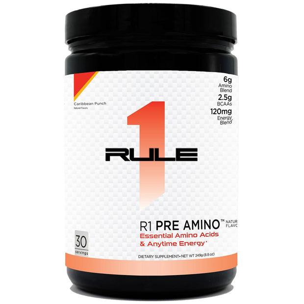 Rule1 Proteins R1 Pre Amino Natural Caribbean Punch