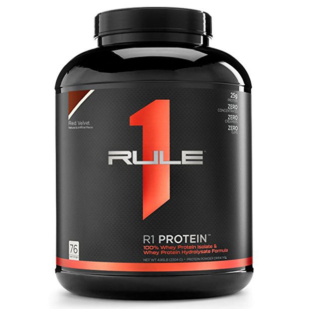 RuleOneProteins R1 Protein Isolate Red Velvet