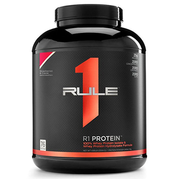 RuleOneProteins R1 Protein Isolate Strawberries and Cream