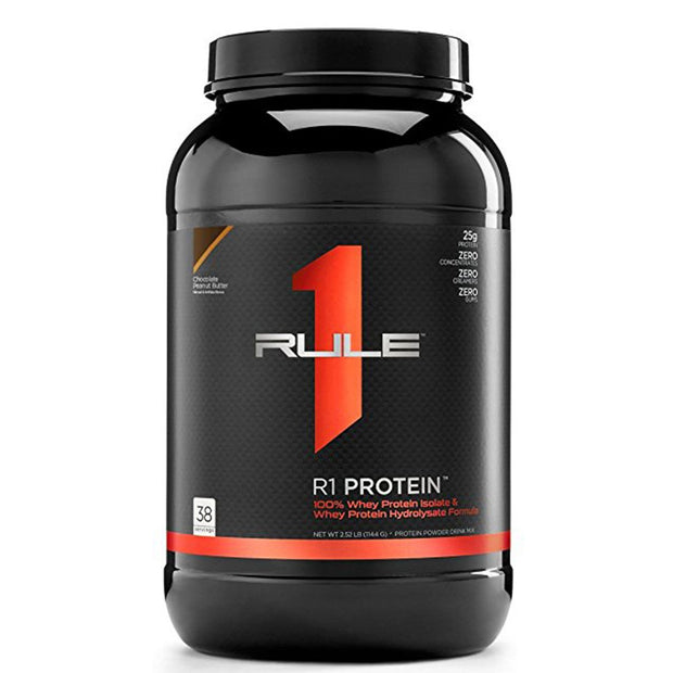 RuleOneProteins R1 Protein Isolate Chocolate Peanut Butter