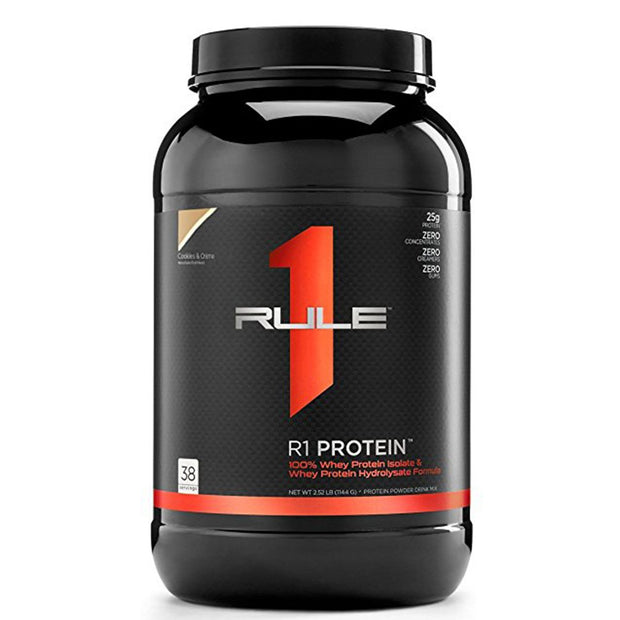 RuleOneProteins R1 Protein Isolate Cookies and Cream