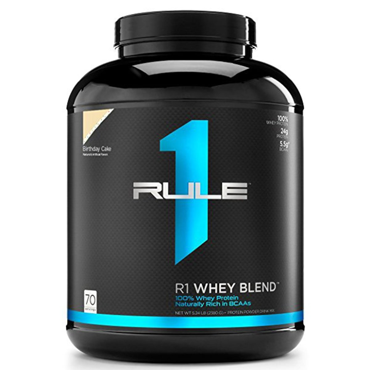 RuleOneProteins R1 Whey Blend Protein Birthday Cake