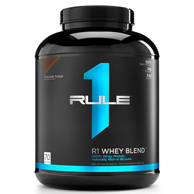 RuleOneProteins R1 Whey Blend Protein Chocolate Fudge