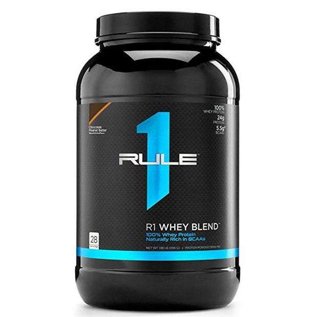 Rule1 R1 Whey Blend Protein Chocolate Peanut Butter