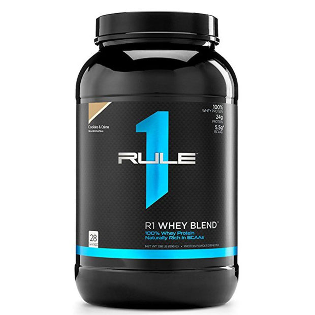 Rule1 R1 Whey Blend Protein Cookies and Cream