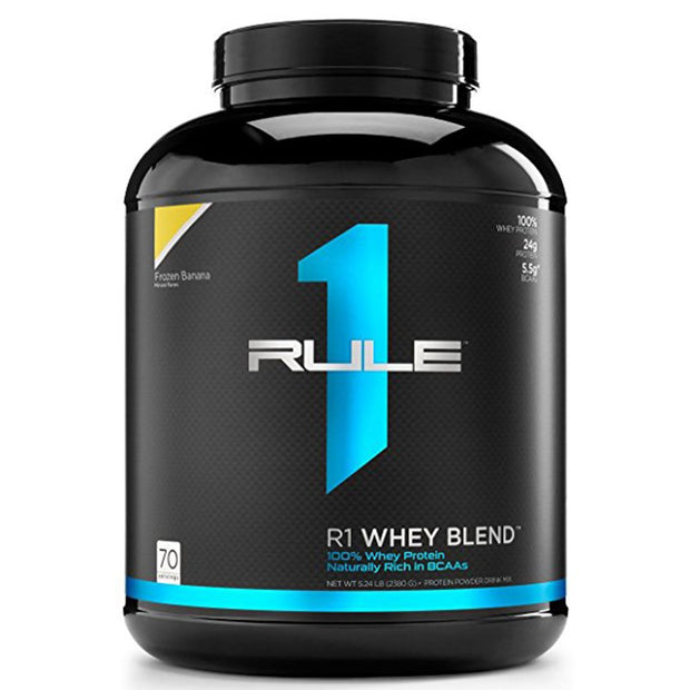 RuleOneProteins R1 Whey Blend Protein Frozen Banana