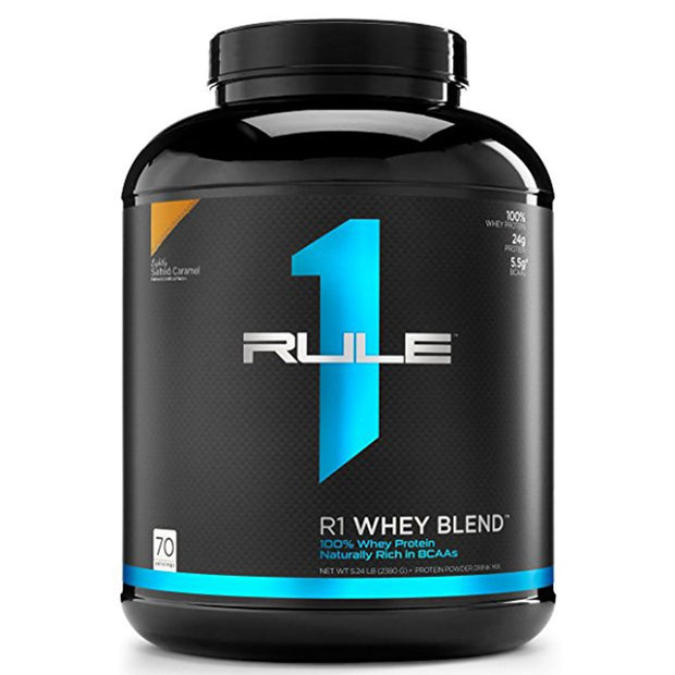 RuleOneProteins R1 Whey Blend Protein Lightly Salted Caramel
