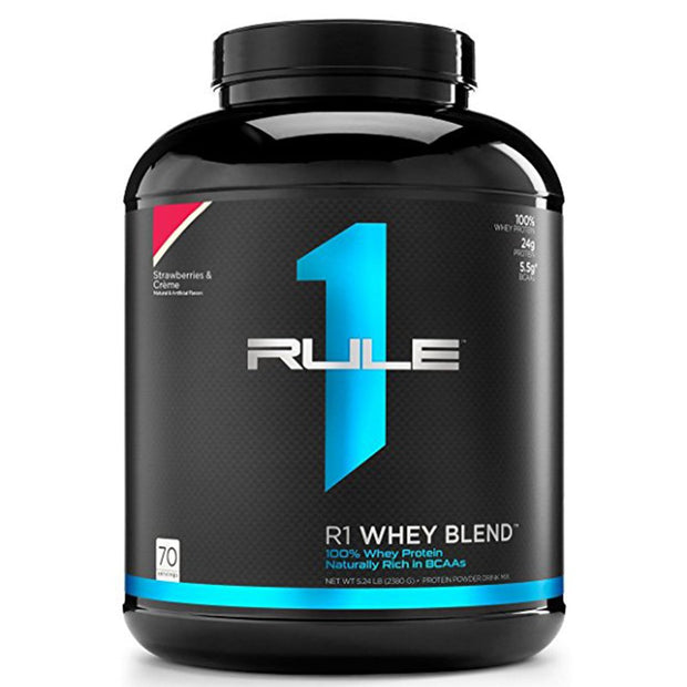 RuleOneProteins R1 Whey Blend Protein Strawberries and Cream