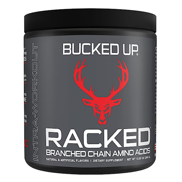 Bucked Up Supplements RACKED Branch Chain Amino Acids BCAA Red Raz