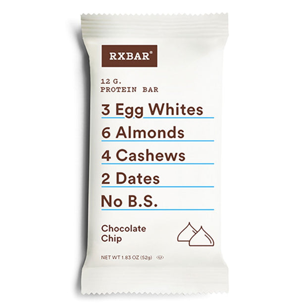 RXBar Whole Food Protein Bar Chocolate Chip