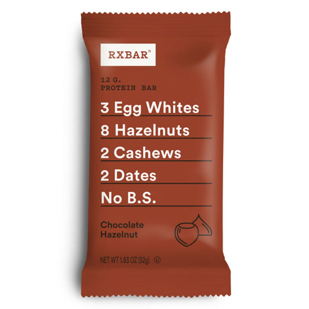 RXBar Whole Food Protein Bar Chocolate Hazelnut