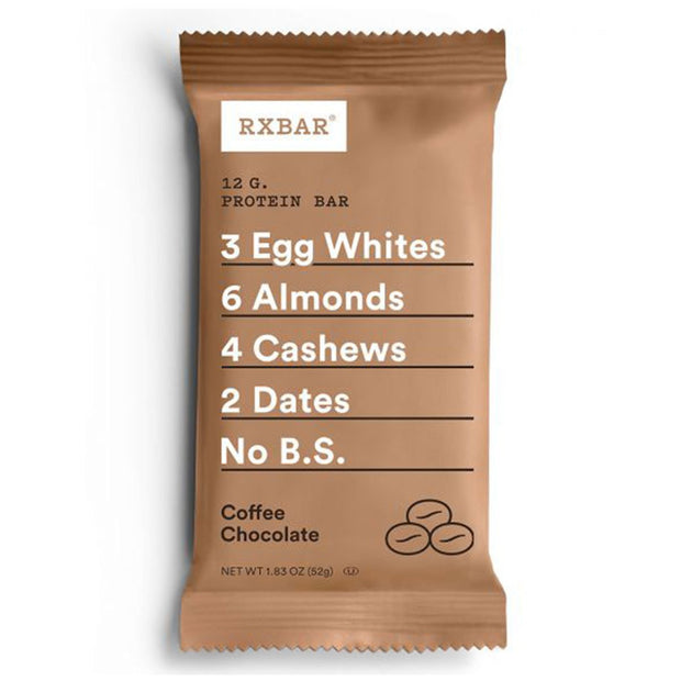 RXBar Whole Food Protein Bar Coffee Chocolate