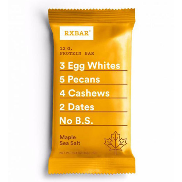 RXBar Whole Food Protein Bar Maple Sea Salt