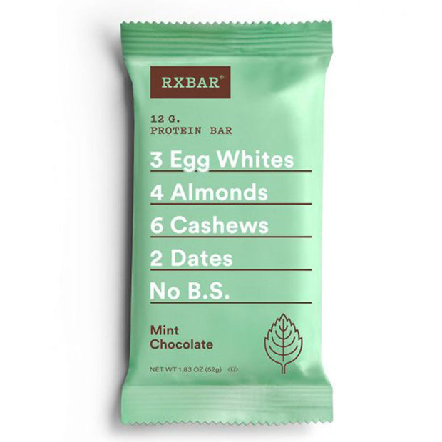 RXBar Whole Food Protein Bar Mint Chocolate