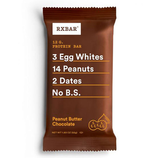 RXBar Whole Food Protein Bar Peanut Butter Chocolate