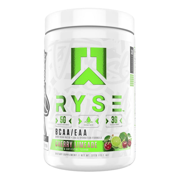 RYSE Supps BCAA EAA Supplement Cherry Limeade