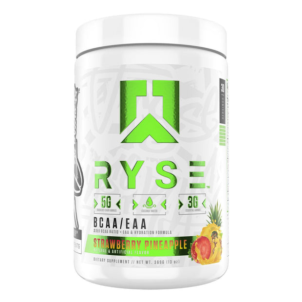 RYSE Supps BCAA EAA Supplement Strawberry Pineapple