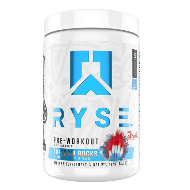 RYSE Pre Workout Freedom Rocks