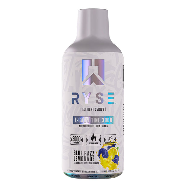 Ryse supps L Carnitine Weight Loss Supplement Blue Razz Lemonade