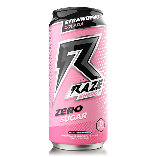 Raze Energy Drink Strawberry Colada