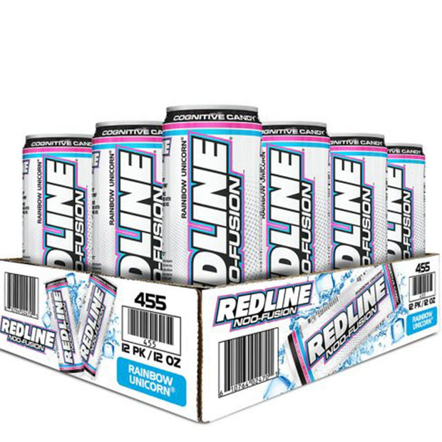 VPX BANG Redline NOO Fusion Energy Drink Rainbow Unicorn