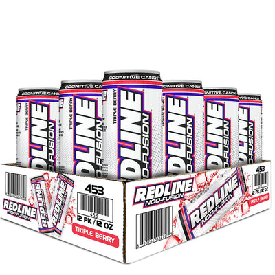 VPX BANG Redline NOO Fusion Energy Drink Triple Berry