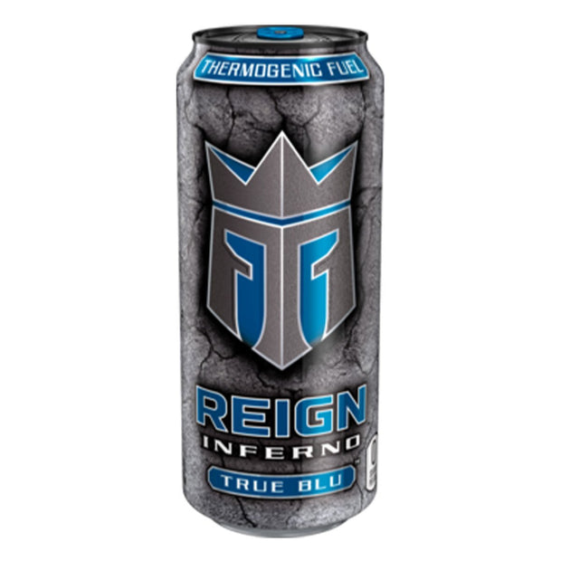 REIGN Inferno Energy Drink Tru Blue Thermogenic