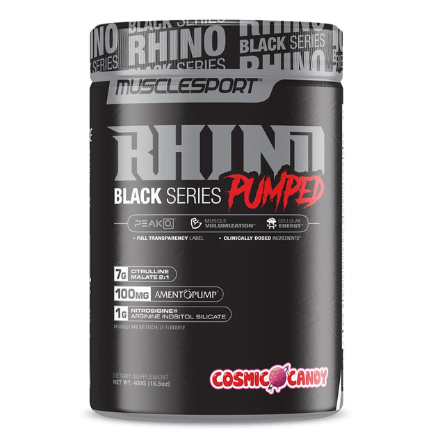 Musclesport Rhino Black Pumped Cosmic Candy