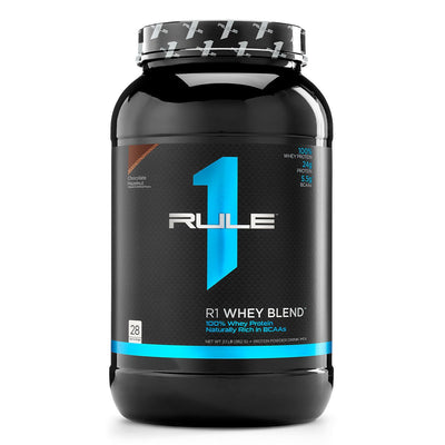 Rule One R1 Whey Blend Protein Powder Chocolate Hazelnut