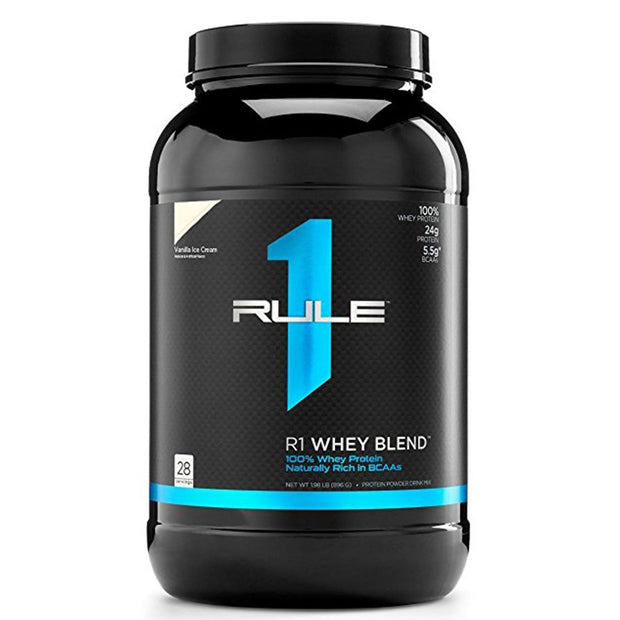 Rule1 R1 Whey Blend Protein Vanilla