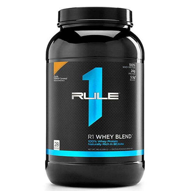 Rule1 R1 Whey Blend Protein Lightly Salted Caramel