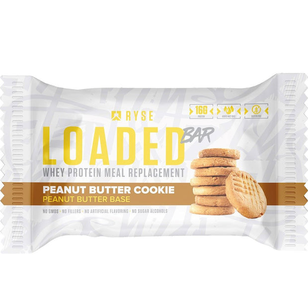 Ryse Supps Loaded Protein Bar Peanut Butter Cookie